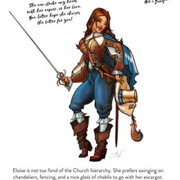 Eloise, the Musketeer (28mm)