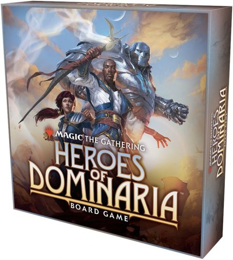 Magic The Gathering: Heroes of Dominaria Board Game(wersja angielska)
